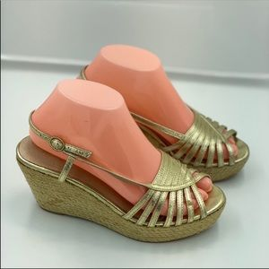 Aldo Wedges Gold Size 38
